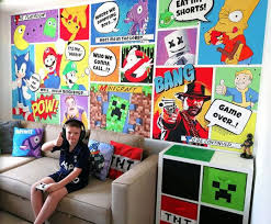 Mum Uses Diy Skills To Turn Kids Play Room Into Gaming Den For Just 16 Daily Star