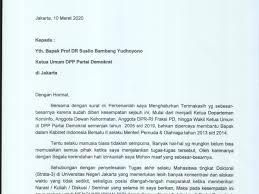 Penampakan Surat Pengunduran Diri Roy Suryo Dari Partai Demokrat
