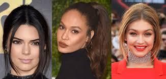 celebrity makeup looks 2017 2018 trends