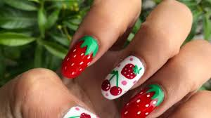 oval nails fast easy step by step