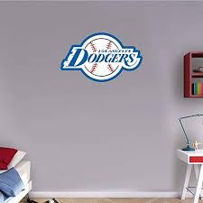 Los Angeles Dodgers Logo Wall Decal Sport Window Sticker Vinyl Decor Mlb
