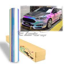 53 X84 Premium White Neo Chrome Rainbow Holographic Vinyl Wrap Sticker Decal Air Release Walmart Com Walmart Com