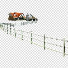 White And Orange House 3d Perspective View Fence 54 Cards House Building House Fence Transparent Background Png Clipart Hiclipart