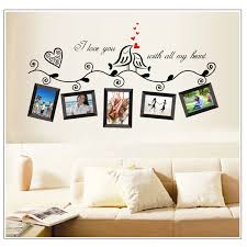 Photo Frame Wall Stickers Home Decor Diy Family Tree Wall Mural Living Room Bedroom Wall Decals Poster Home Decoration Wallpaper Wall Stickers Aliexpress