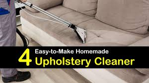 4 homemade upholstery cleaner how to