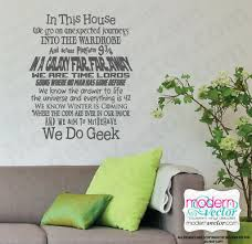 We Do Geek Quote Lettering Vinyl Wall Decal Sticker Ebay