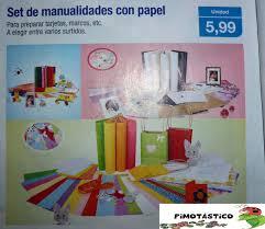 Set De Manualidades Con Papel Scrapbook