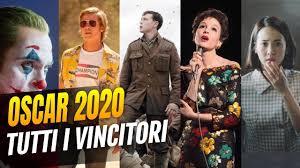 Oscar 2020 - Tutti i vincitori della serata - YouTube
