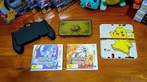 Pokemon Sun & Moon, Pikachu New 3DS XL Case, Hand Grip - YouTube