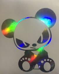 Jdm Evil Panda Bear Sticker Decal Vinyl Car Window Bumper 3 5 X 4 2 Jdm For Sale Online