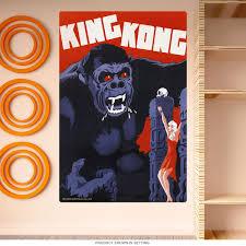 King Kong Sacrifice Fay Wray Wall Decal At Retro Planet