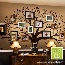 Wall Decals Living Room Wall Decals Bedroom Family Tree Decal Etsy