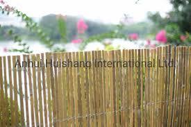 garden use split bamboo fence panels
