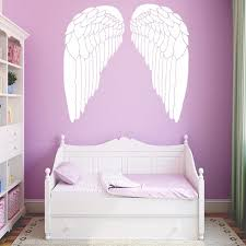 Angel Wings Vinyl Decals Wall Stickers For Baby Kids Rooms Decor Home Decor Wall Art Decal Wish