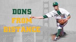 Dons From Distance | Cleveland PItcher, Baseball Alumnus Adam Cimber -  University of San Francisco Athletics