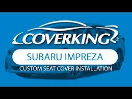 2019 subaru impreza custom seat covers