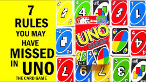 have missed in uno the card game