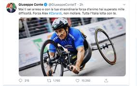 Incidente Alex Zanardi, dalla politica allo sport l'Italia si ...