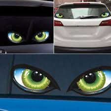 2pcs 3d Stereo Reflective Cat Eyes Car Sticker Adhesive Rearview Mirror Decal Archives Statelegals Staradvertiser Com