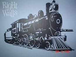 Train Engine Kids Wall Decals Vinyl Art Stickers