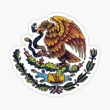 Mexican Eagle Sticker By Norasdesigns Redbubble