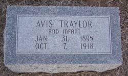 Avis Hughes Traylor (1895-1918) - Find A Grave Memorial