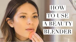 how to use a beauty blender you