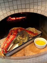 Wood fired oven recipes, King crab legs ...