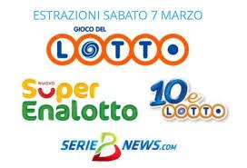 Lotto, SuperEnalotto e 10eLotto 7 marzo 2020: jackpot a 31,5 milioni