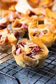 cherry filo pastry tart easy recipe