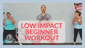 low impact workout for total beginners