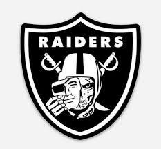 Car Decal Oakland Raiders Nation Skull Face Sticker