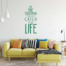 Fisherman Gift Decal Vinyl Vinyl Decor Wall Decal Customvinyldecor Com