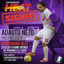 Harrisburg Heat sign Adauto Neto former... - Major Arena Soccer League |  Facebook