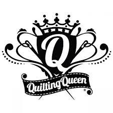 Vinyl Window Decal Quilting Queen Crest White By Fiber Etsy Vinyl Window Decals Quilts Window Decals