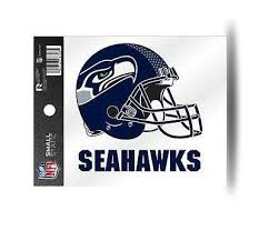 Seattle Seahawks Helmet Static Cling Sticker New Window Or Car Hub City Sports