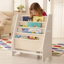 5 Level Tier Wooden Children Canvas Book Shelf Display Unit White View Wooden Kids Canvas Bookshelf Product Details From Billion Arts Huizhou Co Ltd On Alibaba Com