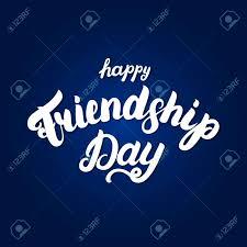 happy friendship day hand written