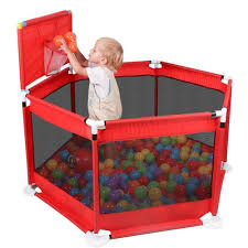 Baby Playpen Fence Folding Barrier Kids Park Children Play Pen Oxford Cloth Game Infants Ball Pit Pool Baby Fencing Playground Baby Playpens Aliexpress