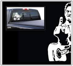 Amazon Com Johnny Cash Large Car Truck Boat Decal Skin Sticker Automotive