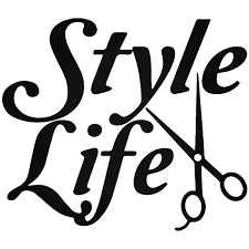 Style Life Barber Scissors Vinyl Decal Sticker