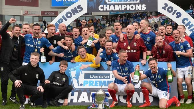 Image result for Linfield trophy""