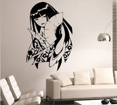 Geisha Wall Decal Sticker Art Decor Bedroom Design Mural Etsy Sticker Art Wall Decal Sticker Wall Decals