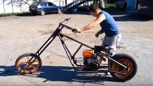 homemade lawn mower engine mini choppers