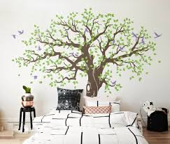 269x233cm Spring Tree Vinyl Wall Sticker Large Tree Wall Stickers Home Decor Wall Decal Adesivo De Parede Arvore Mural D984c Vinyl Wall Stickers Tree Wall Stickerdecorative Wall Decal Aliexpress