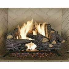 fireplace sure heat natural gas vented