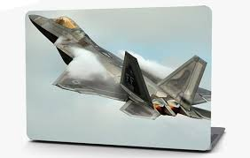 F 22 Raptor Airplane Vinyl Laptop Computer Skin Sticker Decal Wrap Mac Roe Graphics And Apparel