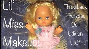 little miss makeup dolls 80s 90s