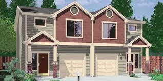 duplex house plans duplex plans