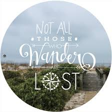 Quote Wall Decal Not All Those Who Wander Are Lost